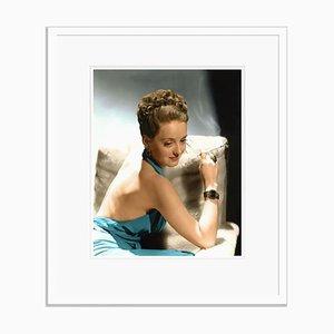 Bette Davis Glamorous Photo Shoot Framed in White by Everett Collection