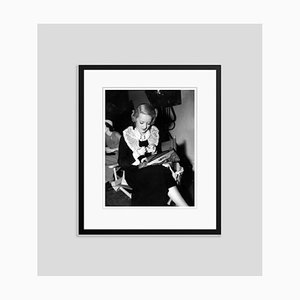 Bette Davis Archival Pigment Print Framed in Black by Everett Collection
