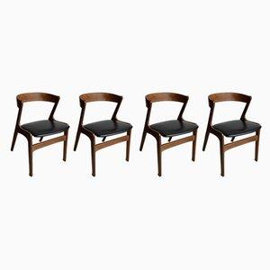 Chaises de Salon, Danemark, 1960s, Set de 4