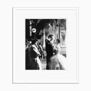 On Set in Jezebel Archival Pigment Print in Weiß von Everett Collection