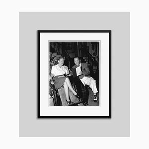 Bette Davis & Producer Hal Wallis Archival Pigment Print Framed in Black by Everett Collection