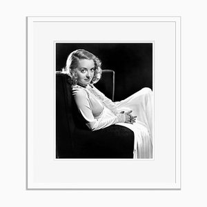 Endearing Davis Archival Pigment Print Framed in White by Everett Collection