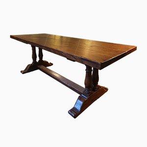 Vintage Louis XIII Oak Dining Table