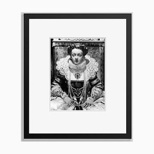 Acting Queen Archival Pigment Print Framed in Black by Everett Collection