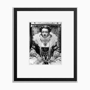 Stampa Acting Queen a pigmentazione nera di Everett Collection