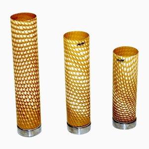 Tischlampen von Herstal, 1980er, 3er Set