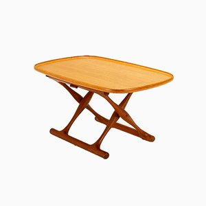 Danish Folding Table by Poul Hundevad for Domus Danica, 1950s