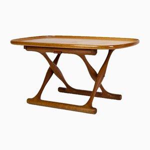 Table Pliante par Poul Hundevad pour Domus Danica, Danemark, 1950s