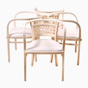 Postal Saving Bank Chairs by Otto Wagner for Thonet, 1986, Set of 4