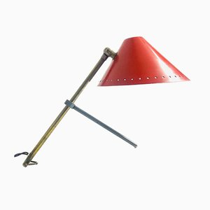 Hala Pinocchio Wall or Desk Lamp by H.Busquet for Hala Zeist, 1950s