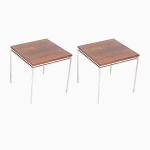 Rosewood Side Tables by Knud Joos for Jason Møbler, 1950s, Set of 2