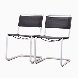 Vintage S33 Outdoor Chairs by Mart Stam for Thonet, 1980s, Set of 2
