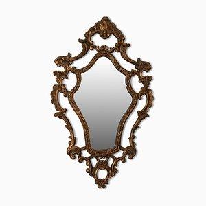 Specchio da parete Gilt Gesso Rococò