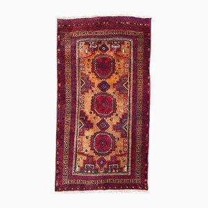 Vintage Baluch Turkmen Rug, 1950s