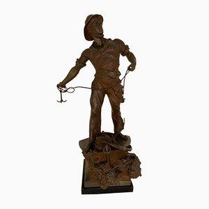 Escultura Art Déco vintage de Waager-Sept