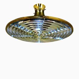 Lampada da soffitto in metallo di Rex Lennart per IKEA, anni '70
