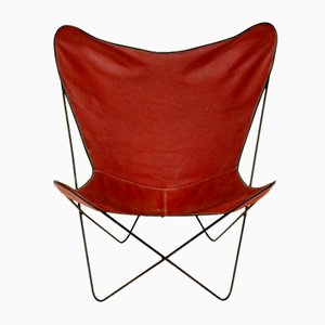 Danish Butterfly Lounge Chair, 1970s