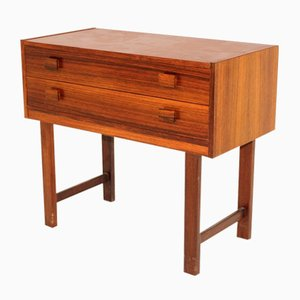 Rosewood & Mahogany Chest of Drawers, 1960s