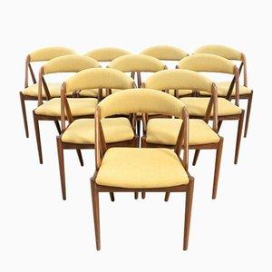 Mid-Century Danish Teak Model 61 Dining Chairs, Set of 6