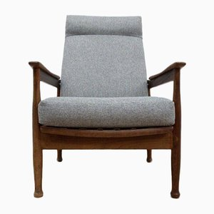 Mid-Century Teak Manhattan Lounge Chair by Guy Rogers