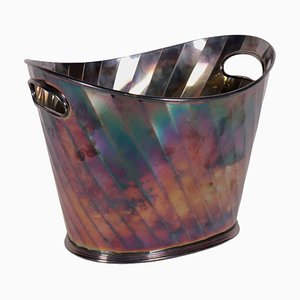 Vintage Pampaloni Silversmith Silver Ice Bucket