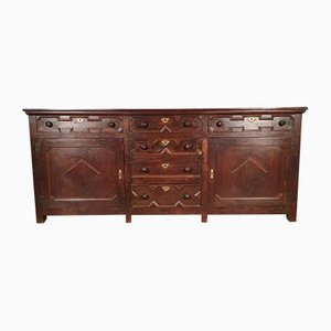 Country House Dresser Base Sideboard, 1730s