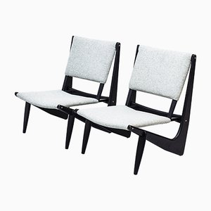 Presens Lounge Chairs by Bertil W. Behrman for Engens fabriker, 1950s, Set of 2