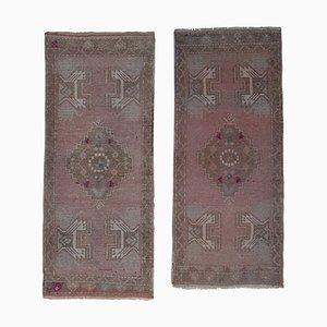 Turkish Oushak Wool Rugs, 1970s, Set of 2