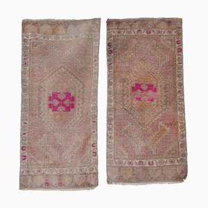 Handmade Kitchen Rugs, 1970s, Set of 2