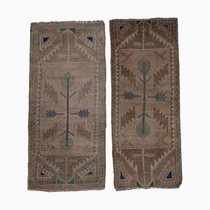 Turkish Oushak Tree of Life Runner, 1970s, Set of 2