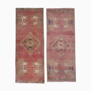 Distressed Turkish Rugs, 1970er, 2er Set