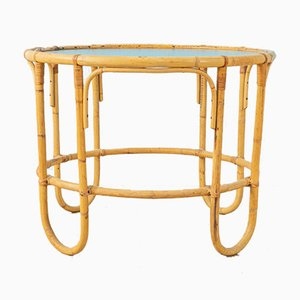 Table Basse en Bambou, 1960s
