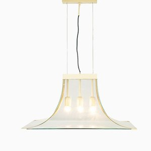Vintage 3-Light Ceiling Lamp from Fontana Arte, 1960s