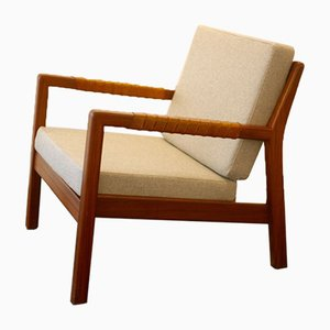 Rialto Easy Chairs by Carl Gustaf Hiort af Ornäs for Puunveisto OY, 1950s, Set of 2