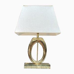 Modernist Brass Table Lamp, 1970s