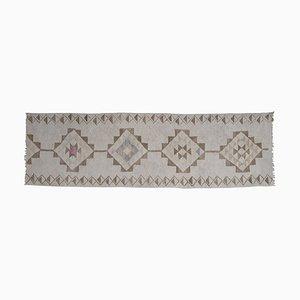 Marokkanischer türkischer Vintage Herki Kelim Teppich, 1970er