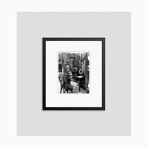 Bette Davis on Location Archival Pigment Print Framed in Black by Everett Collection