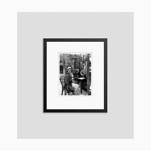 Bette Davis on Location Archival Pigment Print Gerahmte in Schwarz von Everett Collection
