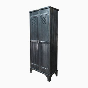 Industrial Wardrobe with 2 Doors from Strafor, 1920s