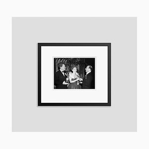 Bette Davis & Spencer Tracy Oscar Winners Archival Pigment Print Framed in Black by Everett Collection