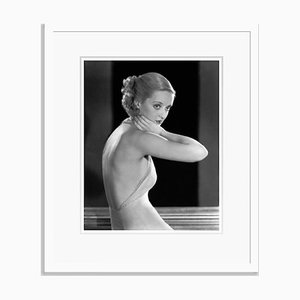 Bette Davis Archival Pigment Print Framed in White by Everett Collection