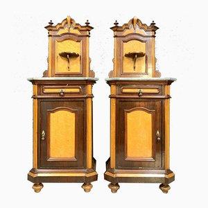 Napoleon III Rosewood Cabinets, Set of 2