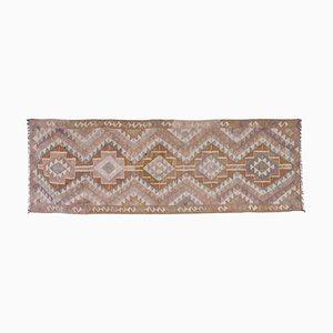 Handgemachter Türkischer Kelim Teppich, 1970er