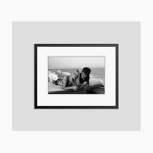 Summer Breeze Archival Pigment Print Framed in Black by Jean-Pierre Bonnotte