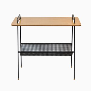 TM04 Side Table with Magazine Rack by Cees Braakman for Pastoe