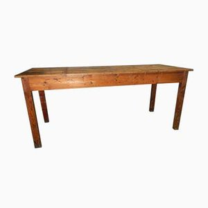 Italian Spruce Worktable, 1970s