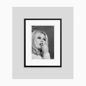 Brigitte Bardot Archival Pigment Print Framed in Black by Bettmann