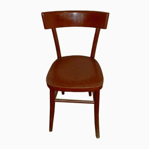 Italian Colorful Wooden Dining Chair, 1960s