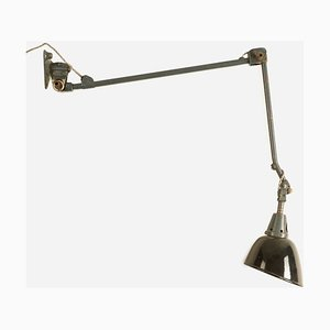 Large Model 121 Wall Mounted Task Lamp by Curt Fisher for Midgard / Industriewerke Auma, 1926
