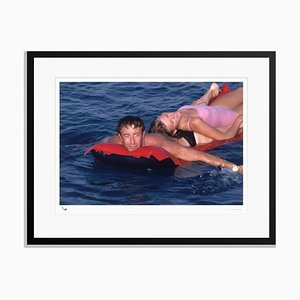 Peter and Britt Framed in Black by Slim Aarons